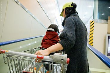 Seoulkoreakidschildrenshoppingcart