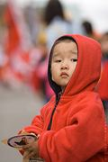 Vancouver Chinese New Year Parade - Boy Watching