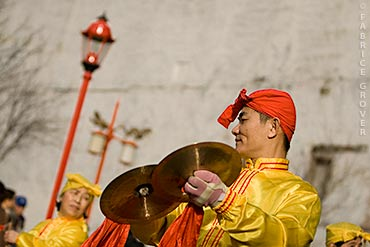 Vancouver Chinese New Year Parade - Cymbals and Headband
